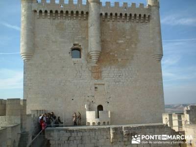 Castillo de Peñafiel  - Viaje enológica a Ribera del Duero; viaje senderismo